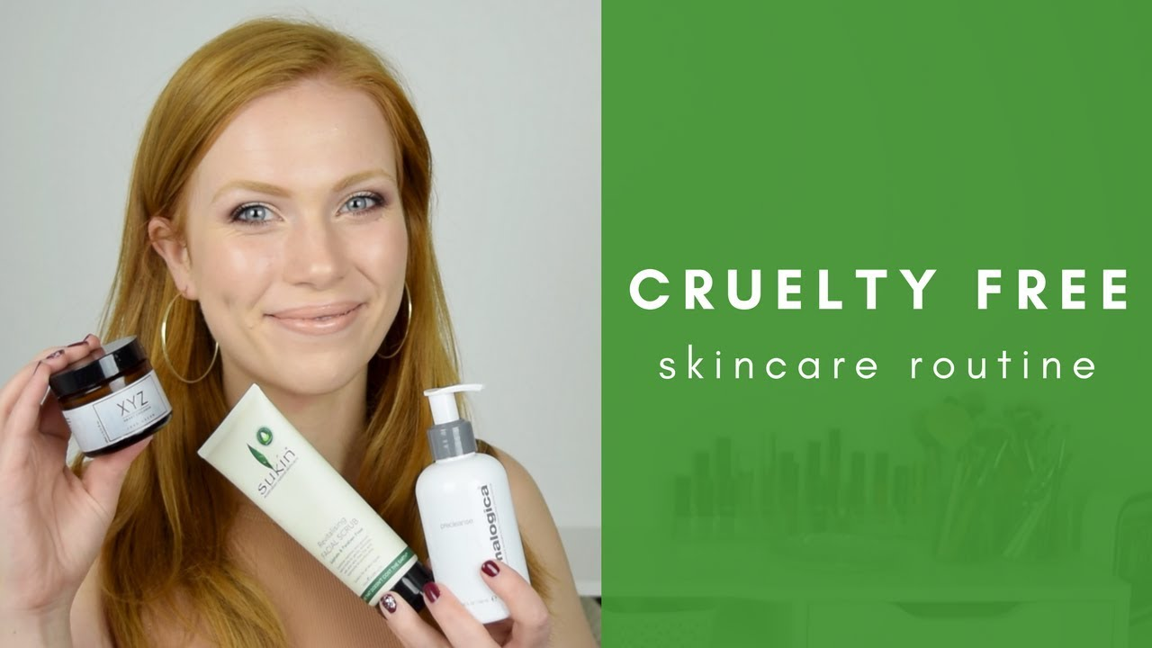 Cruelty Free Skincare Routine | Simply Redhead