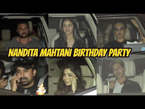 NANDITA MAHTANI Birthday Party At Bandra With Many Celebs