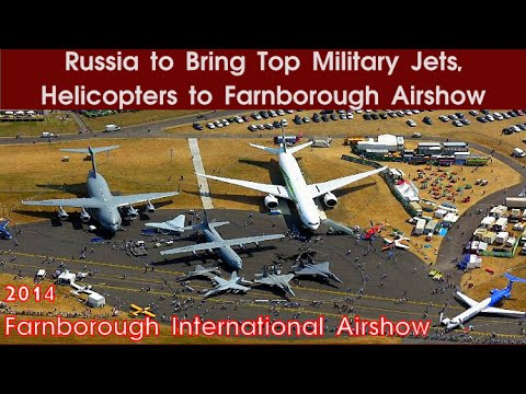 Stars of 2014 Farnborough Air Show...