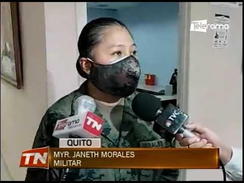Inicio de vacunación contra la covid-19 en hospital militar