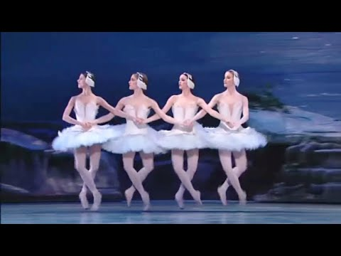 Lake - Re-upload in 480p - YT downgraded original to 240p. Little / Big Swans and dramatic Finale. Compelling music & dance. American Ballet Theatre, 2005. Principa...