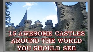 """15 Awesome Castles Around the World You Should SeeIf you love traveling and history then here are 15 of the most amazing castles and palaces worth visiting before you die. While most are in Europe there are few around the globe too.Visit our Channel for Top Attractions:https://www.youtube.com/user/talancutaPlease Subscribe to our Channel:https://www.youtube.com/subscription_center?add_user=talancuta01. Swallow's NestA decorative castle located at Gaspra, a small spa town between Yalta and Alupka, on the disputed territory of Crimea. It was built between 1911 and 1912, on top of the 40-metre (130 ft) high Aurora Cliff.02. Hunyad Castle (Corvin Castle)A Gothic-Renaissance castle in Hunedoara, Romania. It is one of the largest castles in Europe and figures in a top of seven wonders of Romania.03. Potala PalaceLocated in Lhasa, Tibet Autonomous Region was the chief residence of the Dalai Lama until the 14th Dalai Lama fled to India during the 1959 Tibetan uprising.04. Spiš CastleThe ruins of this castle from eastern Slovakia form one of the largest castle sites in Central Europe. 05. Neuschwanstein CastleA nineteenth-century Romanesque Revival palace on a rugged hill above the village of Hohenschwangau near Füssen in southwest Bavaria, Germany.06. Castel del MonteA 13th-century citadel and castle situated in Andria in the Apulia region of southeast Italy.07. Pena National PalaceA Romanticist palace in São Pedro de Penaferrim, in the municipality of Sintra, Portugal. The palace stands on the top of a hill above the town of Sintra, and on a clear day it can be easily seen from Lisbon.08. Predjama CastleA Renaissance castle built within a cave mouth in south-central Slovenia, in the historical region of Inner Carniola.09. Löwenburg Castle""""Lion's castle"""", located picturesquely in the Bergpark (""""mountain park"""") Wilhelmshöhe, presents itself as a romantic knight's castle from the Middle Ages.10. Malbork CastleThe largest castle in the world by surface area. Was built in Marie"""