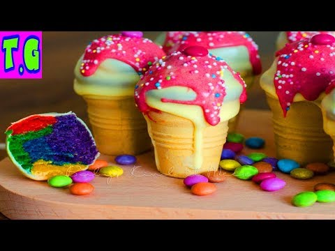 Cone Cupcakes Maker♕cooking Games For Kids 2018.HD 1080p