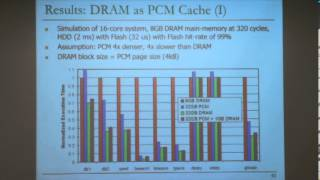 Carnegie Mellon - Parallel Computer Architecture 2013 - Onur Mutlu - Lec 7 - Emerging Memory Tech
