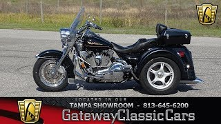 1. 1107 TPA 2001 Harley Davidson FLHRI Road King Trike Twin Cam 88 5 Speed Manual