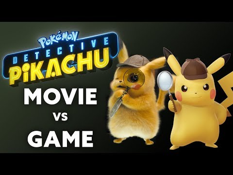 How does the Detective Pikachu movie compare to the game?