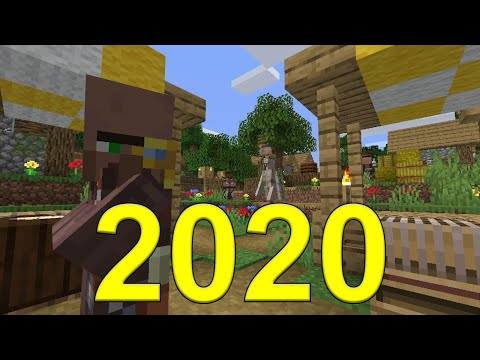 The First Minecraft Video of 2020