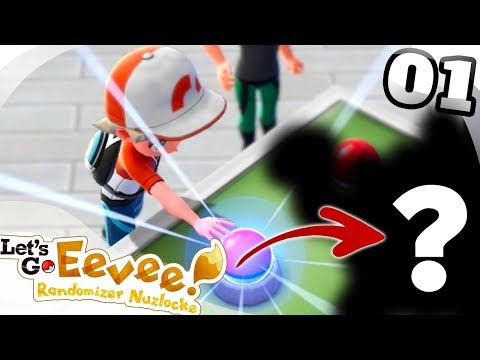 ROUGH START! - Pokémon: Let's Go, Eevee! RANDOMIZER NUZLOCKE Part 1!