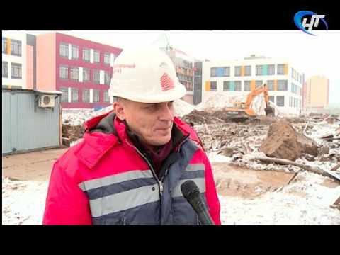 Сергей Митин посетил стройплощадки школы в