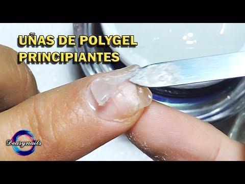 Gel nails - ACRYGEL / POLYGEL TUTORIAL UÑAS ESCULTURALES SIN MOLDE Deasynails como hacer uñas acrygel