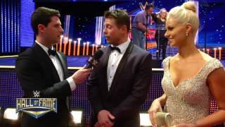 Nonton WWE Superstars and Divas on the red carpet for the 2015 WWE Hall of Fame Ceremony: March 29, 2015 Film Subtitle Indonesia Streaming Movie Download