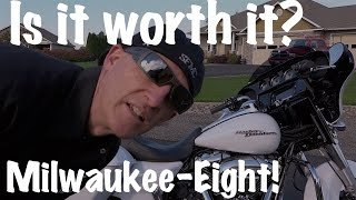 4. Harley Street Glide-Milwaukee Eight 107 CI Motor-Test Ride Review | Motorcycle Podcast