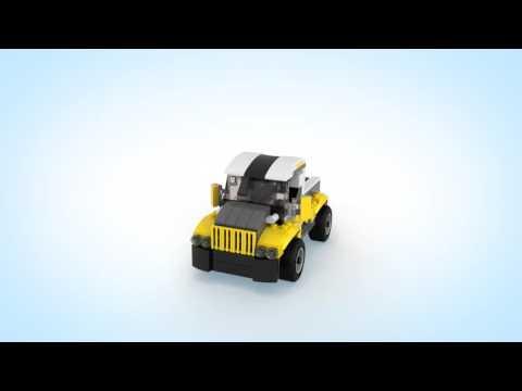 LEGO® Creator - 31046 Rychlé auto