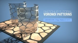 Video SketchUp Voronoi Tutorial MP3, 3GP, MP4, WEBM, AVI, FLV Desember 2017