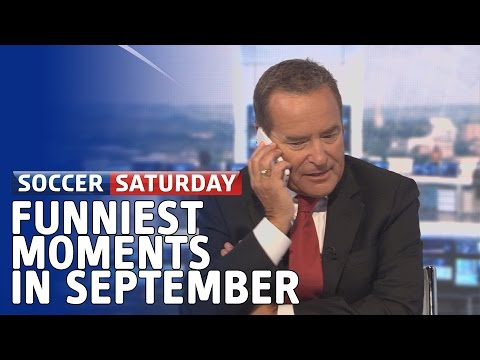 soccer - Paul Merson prank calls Jeff Stelling live on air, Ian Dowie sings the lads a song and the sandwich war continues - it can only be September's funniest Soccer Saturday moments. Subscribe to...