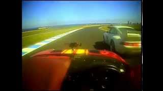 CUE 1 hour Phillip Island 2007 Brian Ferrabee MX5 Chris Stannard Porsche RSCS