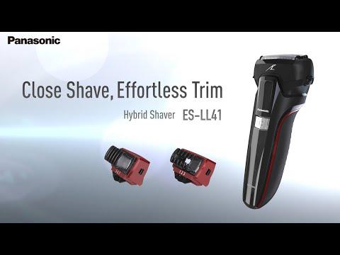 Beard styles - Close Shave, Effortless Trim:  Panasonic's Hybrid Shaver  ES-LL41