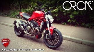 10. 2014 Ducati Monster 1200 Test Ride & Review