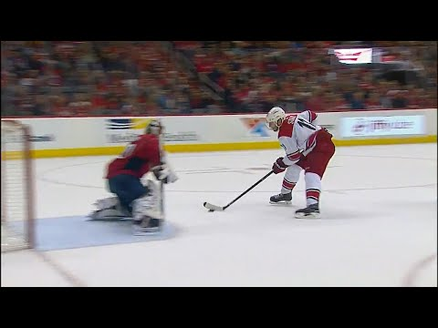 Video: Messy pass by Capitals leads to Staal scoring shorthanded