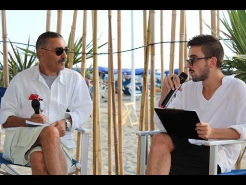 "Bruno Casini presenta al Mama  Beach di Torre Del Lago il suo  libro ""Sex and the World"