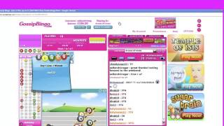 Online Bingo - Gossip Bingo Review By Internet Bingo Sites
