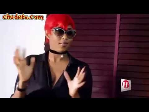 Cynthia Morgan Allows HFTV Interviewer Press Her Boobs On Set