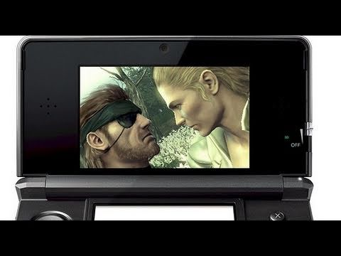 preview-Metal Gear Solid Snake Eater 3D: E3 2011 - 3DS Integration (IGN)