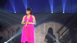 Nicki Minaj - Save Me & Marilyn Monroe - live Manchester 4 april 2015