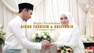 Video (OFFICIAL VIDEO) Majlis Pernikahan Ainan Tasneem & Ariffudin by Kaio Studio MP3, 3GP, MP4, WEBM, AVI, FLV Juli 2018