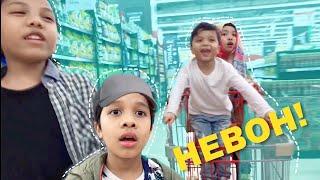 Video Bikin Heboh Di Super Market!! GHKIDS - FATIMVLOG34 MP3, 3GP, MP4, WEBM, AVI, FLV Mei 2019