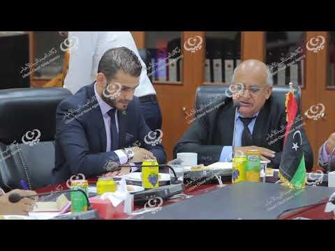 وزير التعليم يحضر مراسم تنصيب رئيس جامعة طرابلس