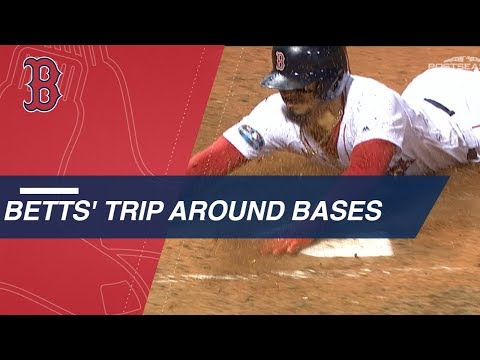 Video: Mookie Betts' trip around the bases