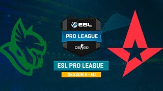 Astralis vs Heroic - ESL Pro League S8 EU - bo1 - de_Dust2 [CrystalMay, Gromjkeee]