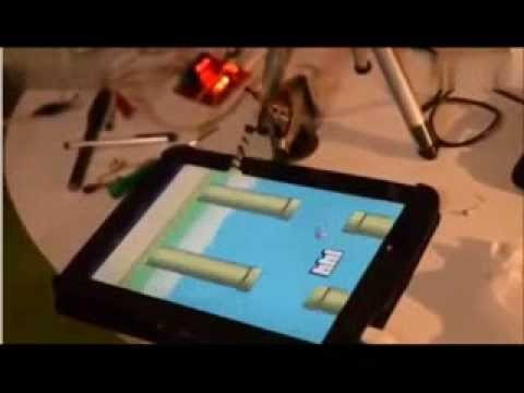 Flappy Bird Playing Robot
