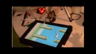 Robot Plays Flappy Bird Better Than Human