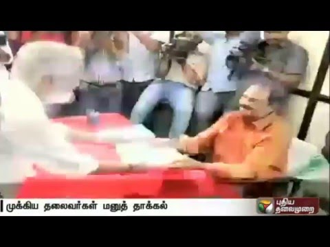 State-BJP-president-Rajasekaran-among-others-filed-nominations-in-Kerala-Assembly-election