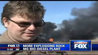New Albany (MS) United States  city photos : Watch Mississippi Plant EXPlosion Caught on Video New Albany Biodiesel Plant Explodes!!!