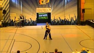 Angelina Ziegler & Felix Hentsch - Nordbayerische Meisterschaft 2015