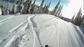 Fernie (BC) Canada  city pictures gallery : GoPro Skiing - Fernie, BC - Meet me in Timber Bowl!