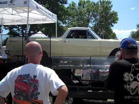 El Camino puts out 1400 horsepower during dyno run