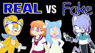 Real VS Fake Sonic OC CHALLENGE - feat. Saki McGee