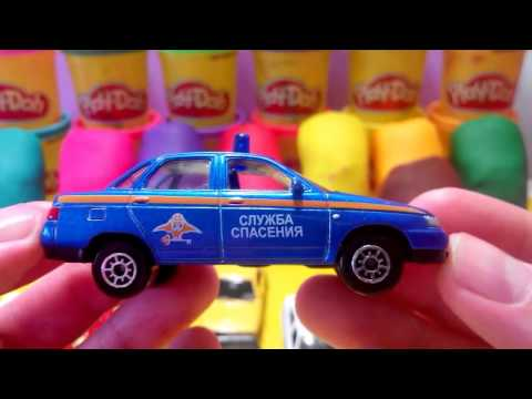 Play doh small cars сars for kids машинки