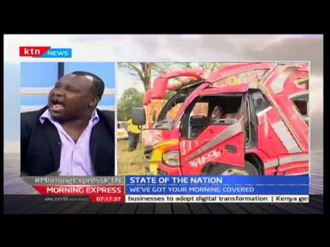 State of the Nation: Road safety on the Kenyan roads 29th September 2016