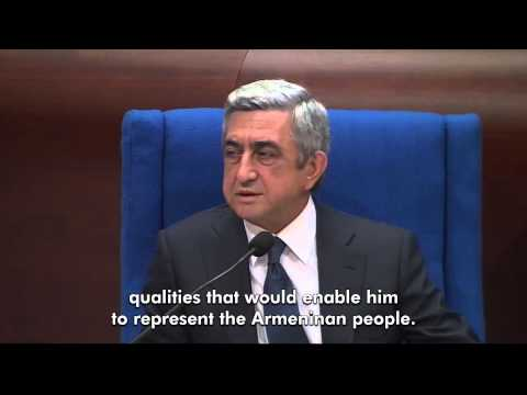 Serj Sargsyan - At the Parliamentary Assembly of the Council of Europe, on October 2, 2013, Zaruhi Postanjyan asked Serzh Sargsyan whether he lost €70 million at a casino in...