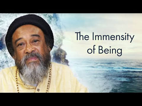 Official Mooji Guided Meditation: The Immensity of Being