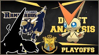OUR PLAYOFF TEAM! St. Louis Rampardos Multi Draft League Breakdown by aDrive