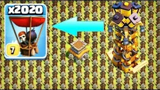Video 1000 Hidden Tesla VS 2000 Baloon  Stratgy | COC Private server MP3, 3GP, MP4, WEBM, AVI, FLV Mei 2017
