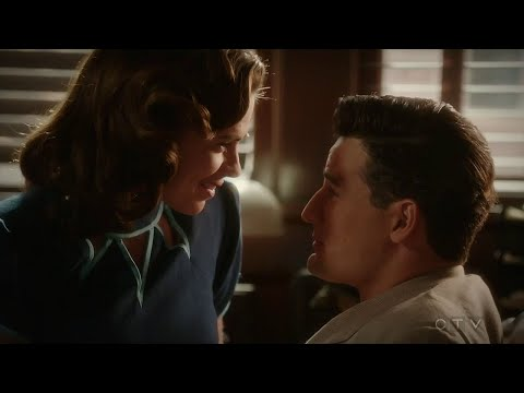 Agent Carter 2x10: Peggy and Daniel kiss scene