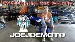 10. How To: PW50 Steering Head Bearing Replacement