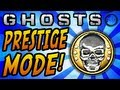 "Call of Duty: GHOSTS Multiplayer - New ""PRESTIGE MODE"" System! 10 Prestiges! (COD Ghost)"